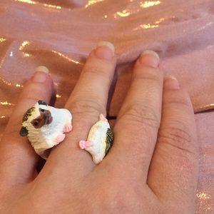 🦔 Cute hedgehog ring 🦔